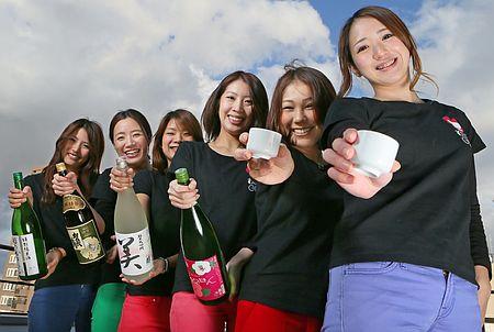 名古屋から日本酒を広める、おちょこガール
